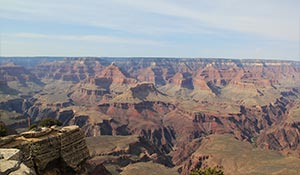 South Grand Canyon in the day