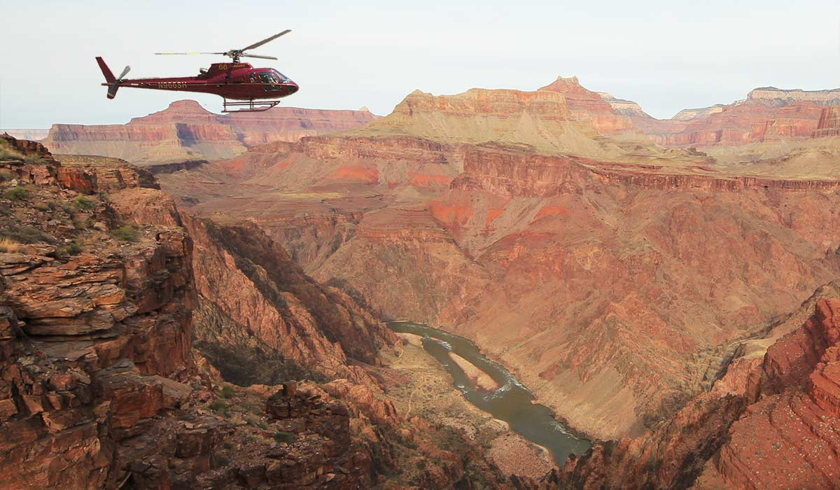 Tusayan Helicopter Tours Of The Grand Canyon