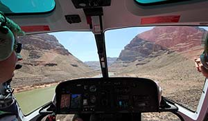 Multi activities with helicopter in Grand Canyon